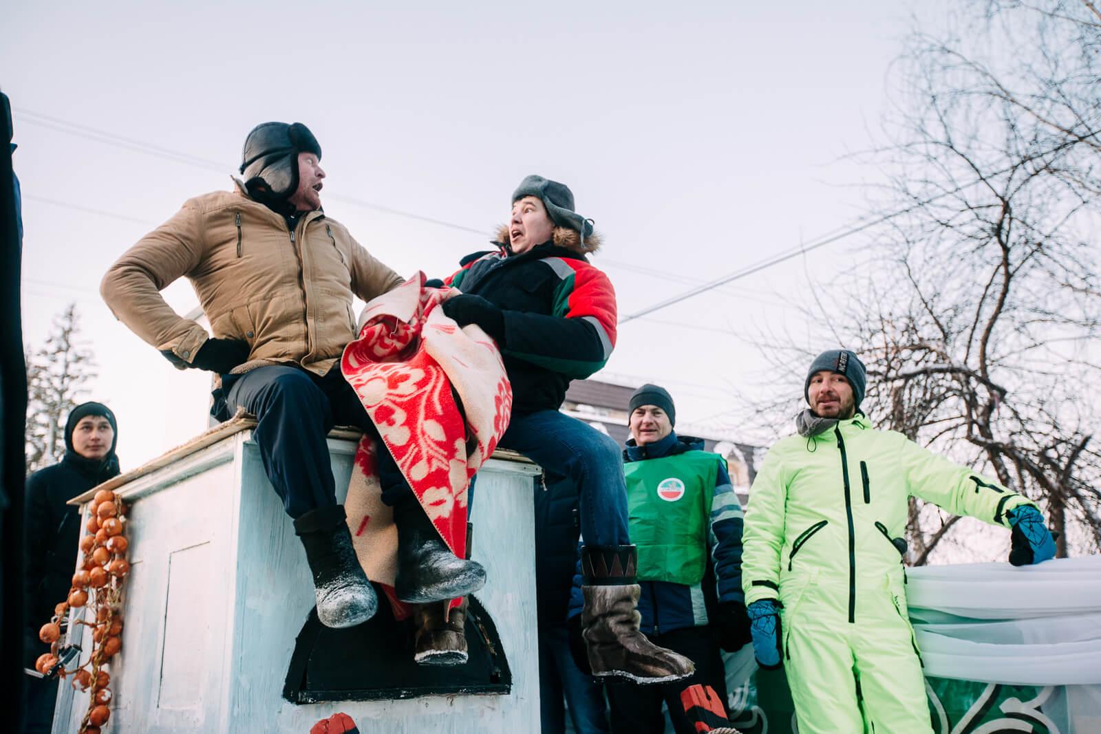I место - команда «Богатыри» Мамадышский муниципальный район